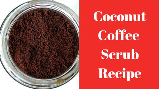 coconut oil brown sugar coffee scrub