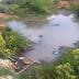 DENÚNCIA: Morador grava vídeo e expõe esgoto a céu aberto, em Patos; veja