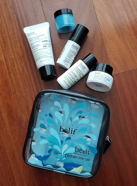 Belif Bestsellers On The Go Kit