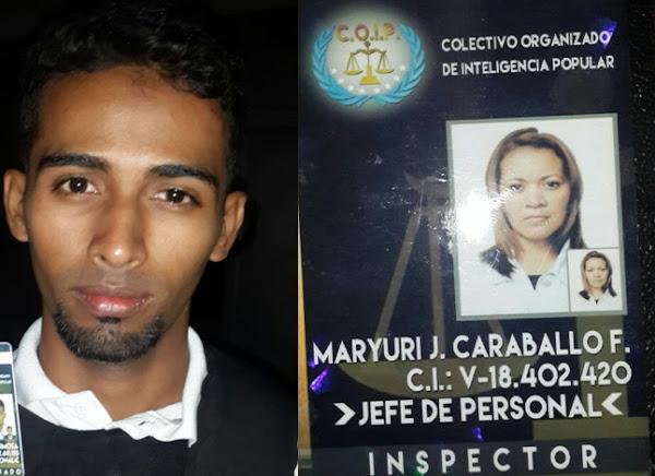 Detenida una pareja de Colectivos ladrones del PSUV