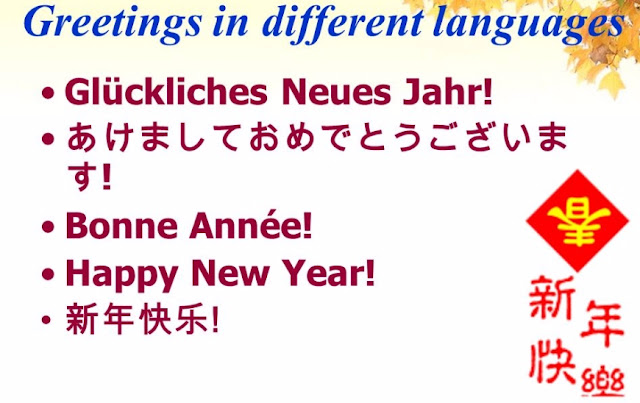 Wish Happy New Year In Different languages | Happy New Year 2017