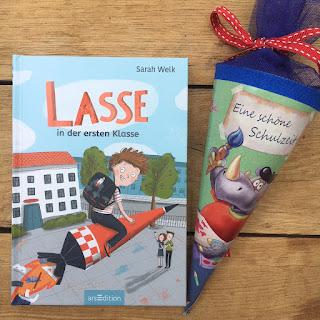 Kinderbuch Lasse in der 1. Klasse Geschenkidee Einschulung