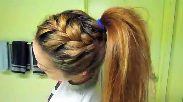 Groovy 5 Easy Back To School Hairstyles Tutorial Braided Ponytail Short Hairstyles Gunalazisus