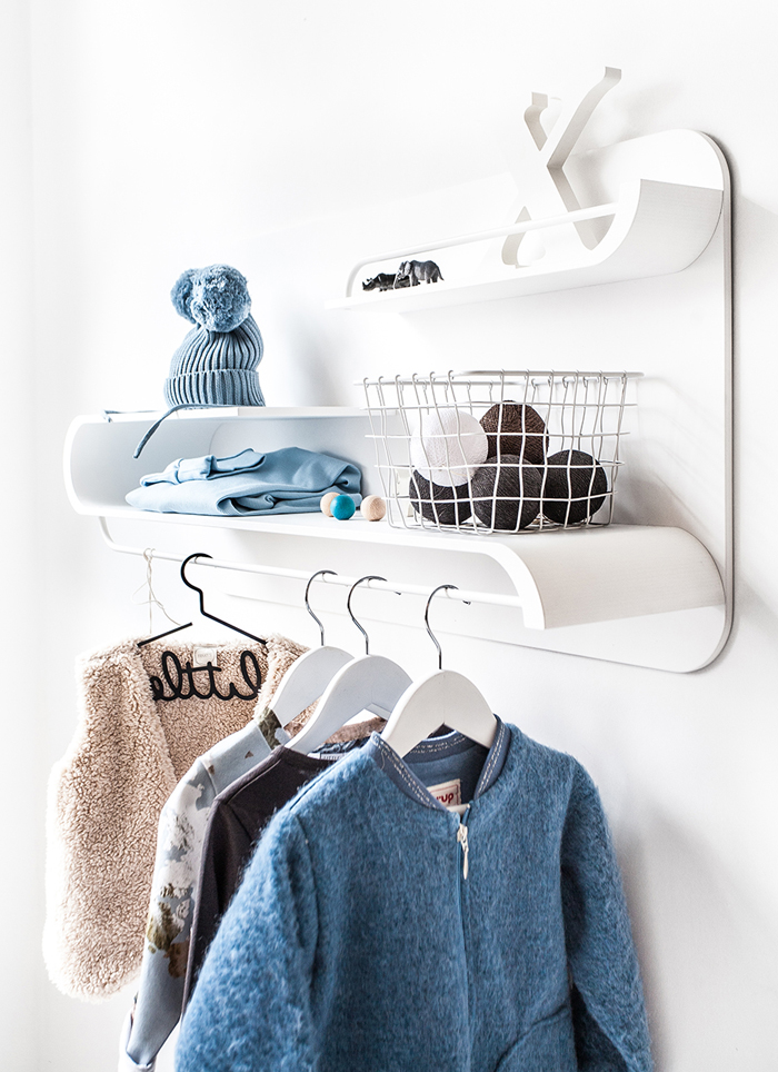 Cosy winter with Rafa-kids - L shelf WHITE