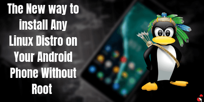 The Best New way to install Kali Linux on Android Without Root