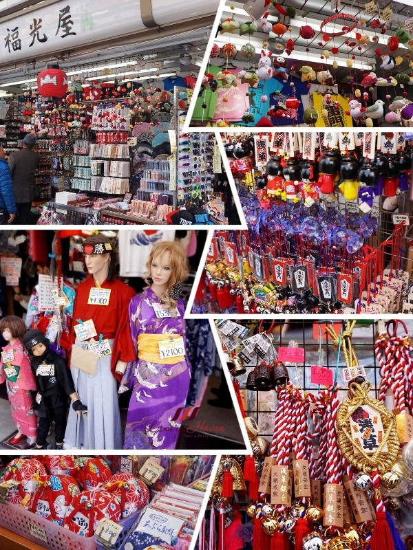 asakusa nakamise must visit places in tokyo