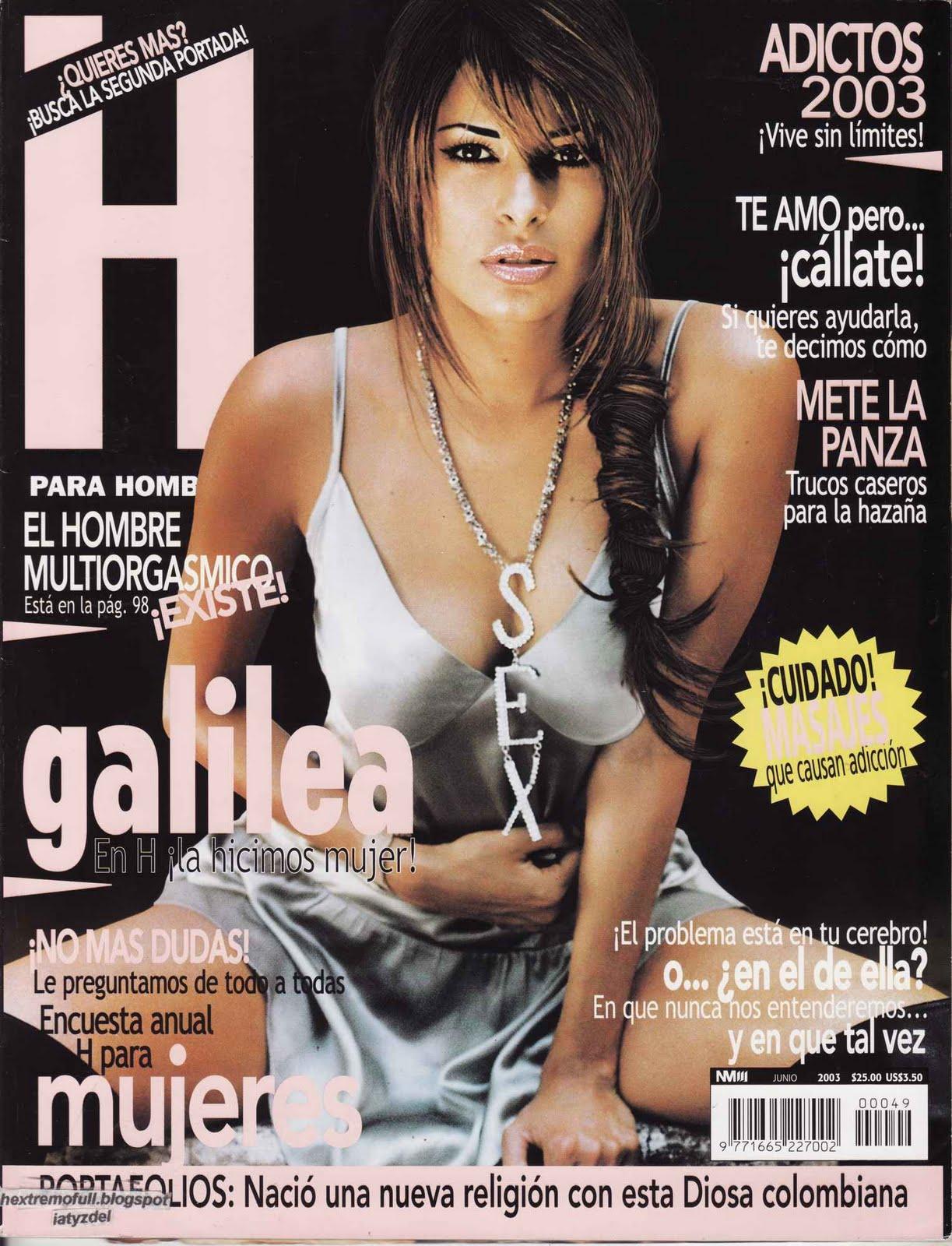 Galilea montijo revista h para hombres extremo
