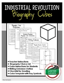 Industrial Revolution Biography Cubes