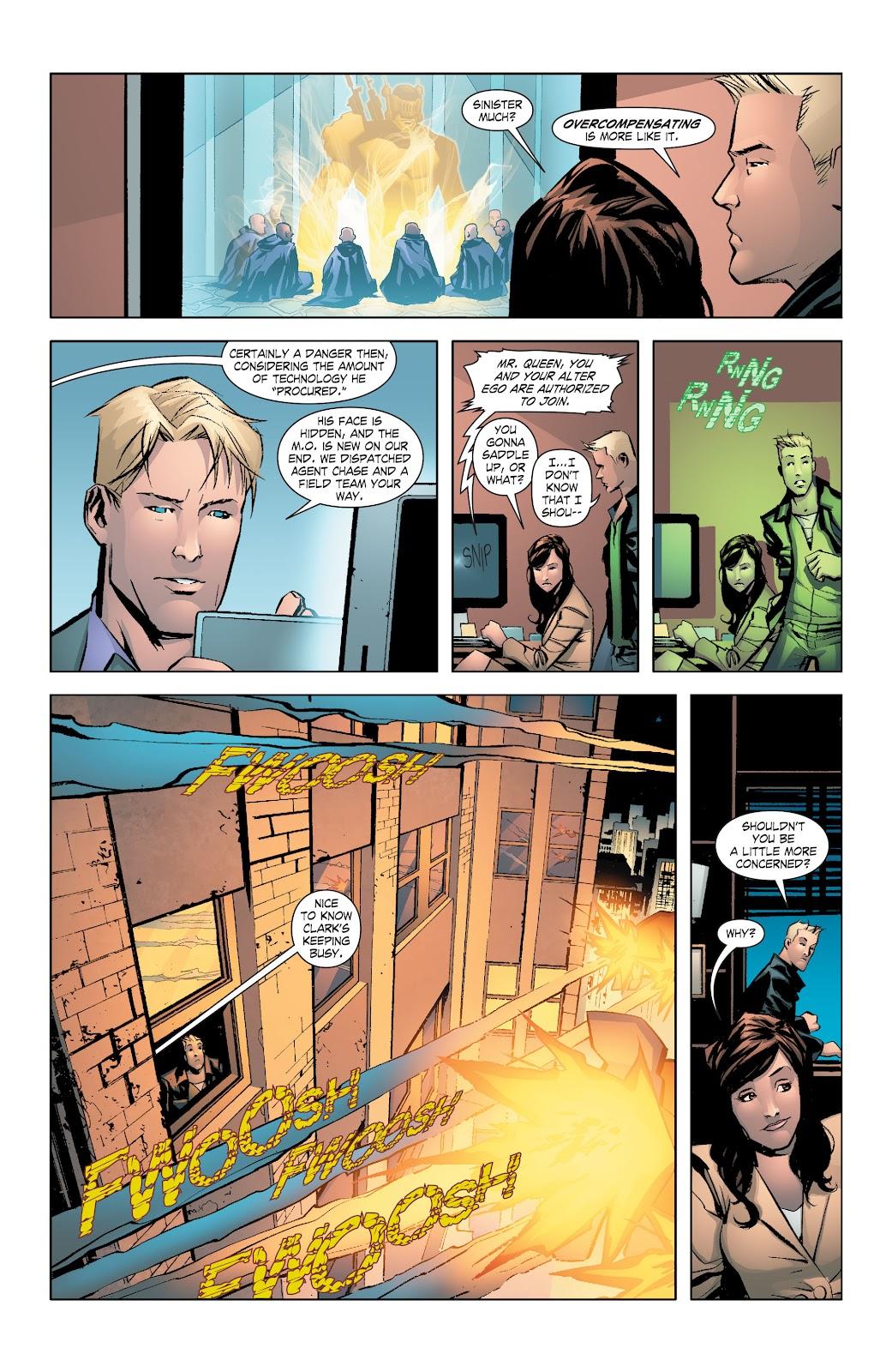 Read online Smallville Season 11 [II] comic -  Issue # TPB 7 - 50