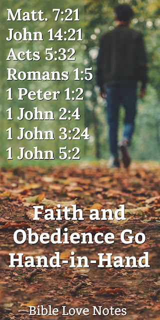 Grace and Works, Faith and Obedience are Intertwined