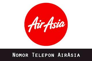 Nomor Telepon AirAsia Bebas Pulsa