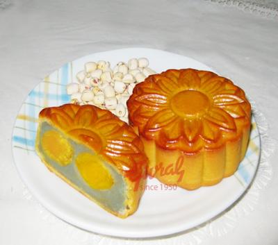 Bánh trung thu Givral Khoai Môn Hạt Sen