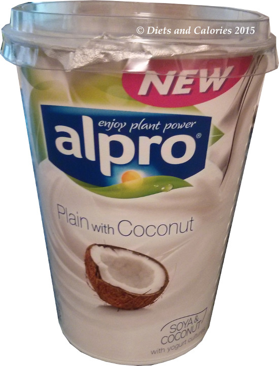 Alpro Soya Plain with Coconut yogurt