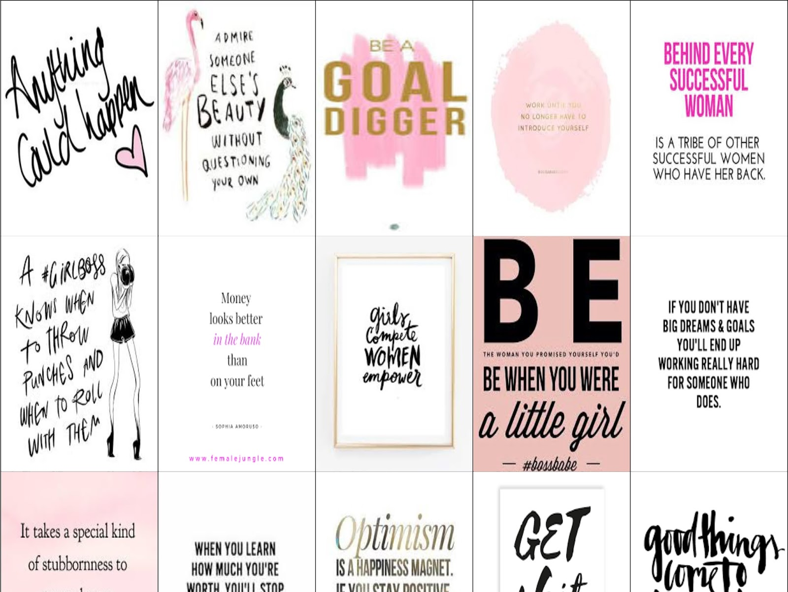 malena haas free planner printables girl boss coffee stickers