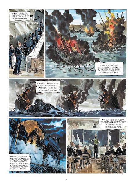 Ma Guerre - De la rochelle à Dachau Rue de Sèvres Page 8