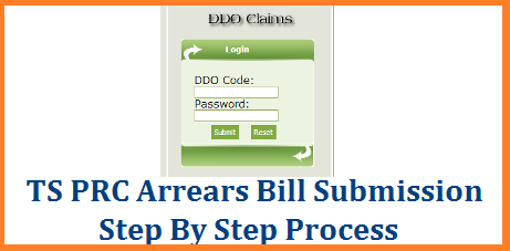 PRC Arrears Bill Submission Step By Step Process and Enclosures | Telangana Teachers and Employees PRC RPS 2015 Arrears for Appendix II Steps involved Read Here prc-arrears-bill-submission-step-by-step-process-enclosures-download