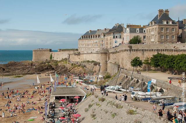 Saint-Malo ciudadela murallas imprescindibles Bretaña