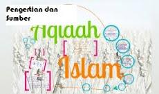Pengertian dan Sumber Aqidah Islam