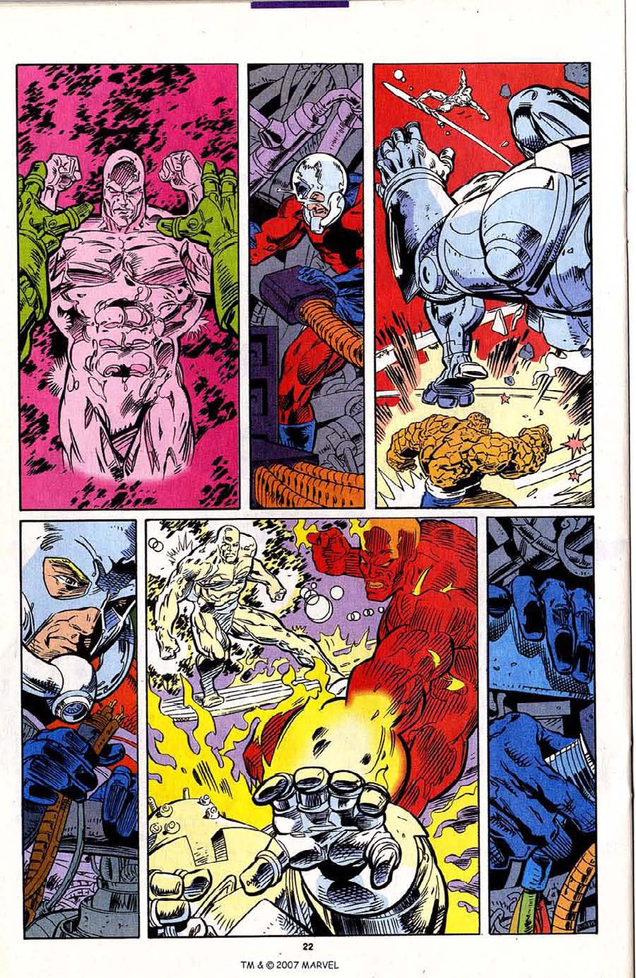 Read online Silver Surfer (1987) comic -  Issue #95 - 24