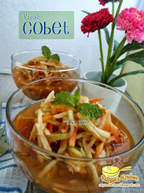 Naysa Kitchen Rujak Gobet Aka Rujak Serut