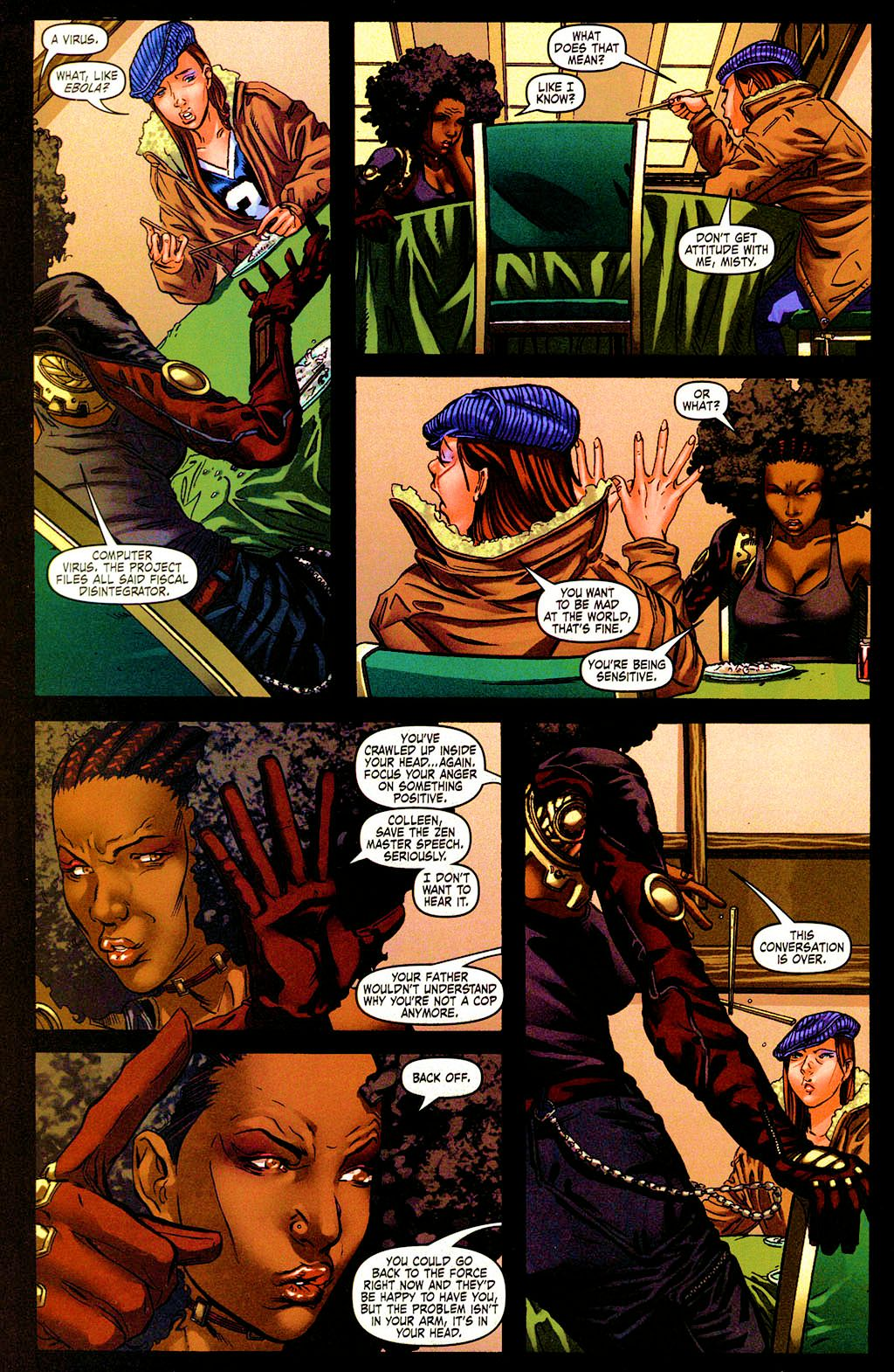 Read online Daughters of the Dragon comic -  Issue #4 - 22