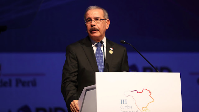 VIDEO: En Perú, Danilo Medina aboga por justicia, equidad y transparencia en comercio e inversión global