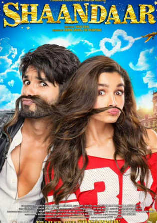Shaandaar 2015 BluRay 400MB Full Hindi Movie Download 480p