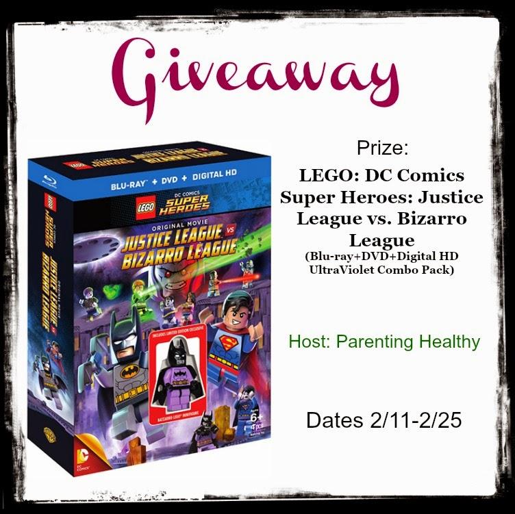 lego justice league vs bizarro league giveaway