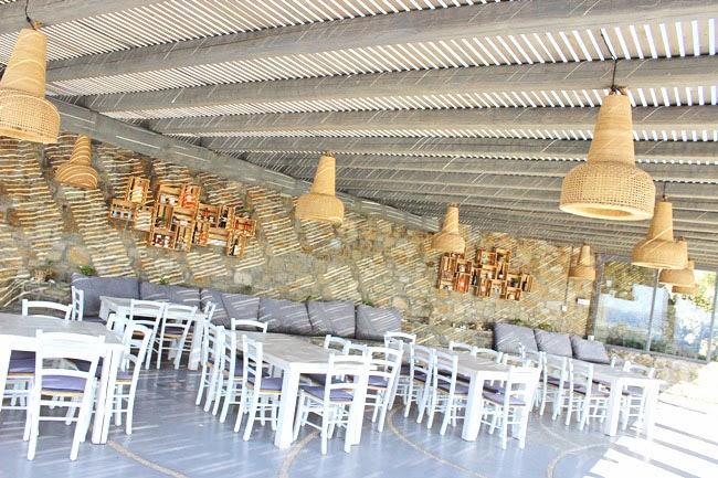 modern design of Rocabella Mykonos Art Hotel & SPA