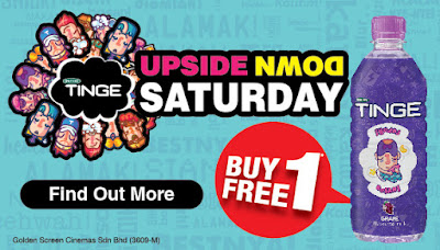 GSC Spritzer Tinge Buy 1 Free 1 Promo