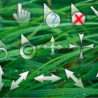How to repalce cursor in windows 7