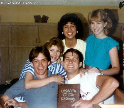 Hogan High School Throwback: Class of 1985 Clockwise: Sean Hennessy, Doreen Tate, Karen Travels, Danna Rouff & Darren Cole.