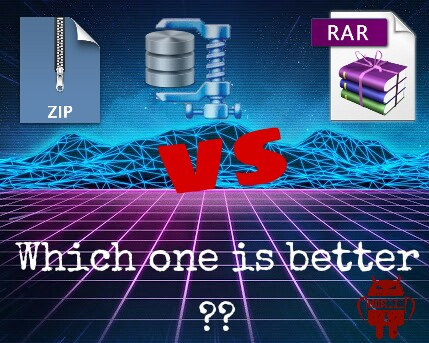 Difference between ZIP and RAR file | What are ZIP and RAR archives