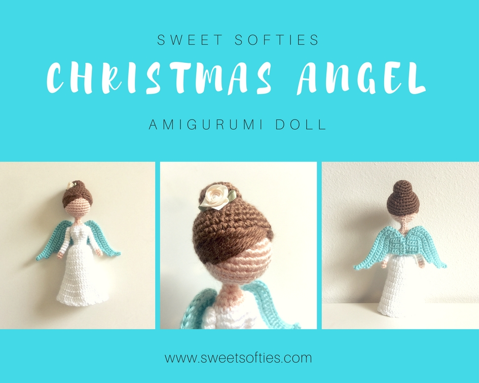 Christmas Angel Sweet Softies Amigurumi And Crochet New Angel Pattern