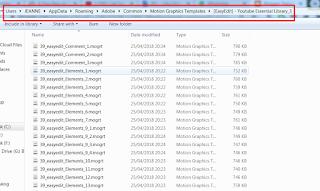 Cara Menginstall dan Menggunakan File Essential Graphics Mogrt di Premiere Pro CC