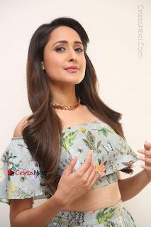 Actress Pragya Jaiswal Stills in Floral Dress at turodu Interview  0031.JPG