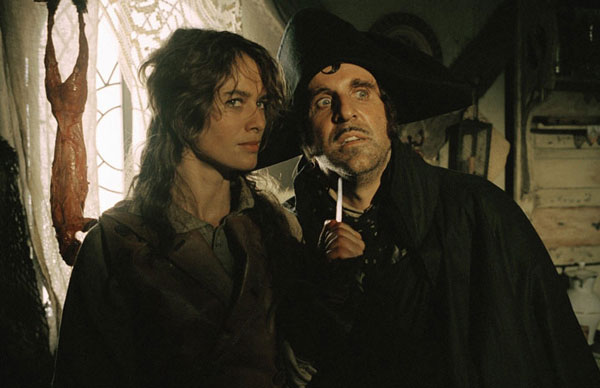 Lena Heady and Peter Stormare in The Brothers Grimm