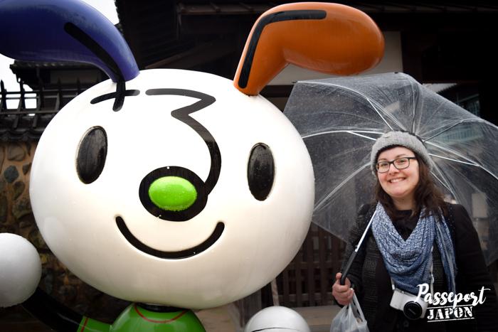 Mascotte Saruku-chan, Nagasaki, Kyushu