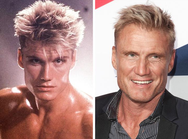 Os melhores atores de filme de ação de Hollywood da década de 80 e 90 nos dias atuais