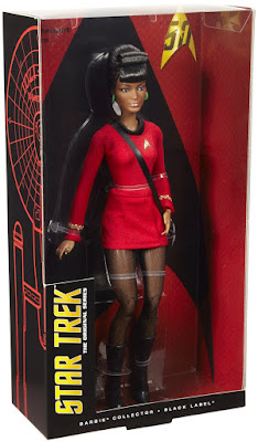 TOYS : JUGUETES - BARBIE Collector : Black Label  Star Trek The Original Series 50th Anniversary  Uhura | Muñeca - Doll  Producto Oficial 2016 | Mattel DGW70 | A partir de 10 años  Comprar en Amazon Espña & buy Amazon USA