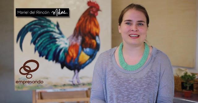 Empresando Mariel del Rincón: arte personalizado