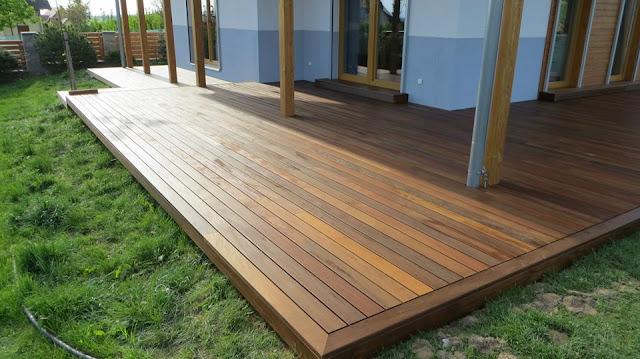 Dřevěná terasa Softline