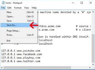 Cara Mudah Memblokir Website di Komputer Tanpa Software