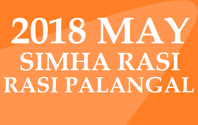2018 May Simha Rashifal