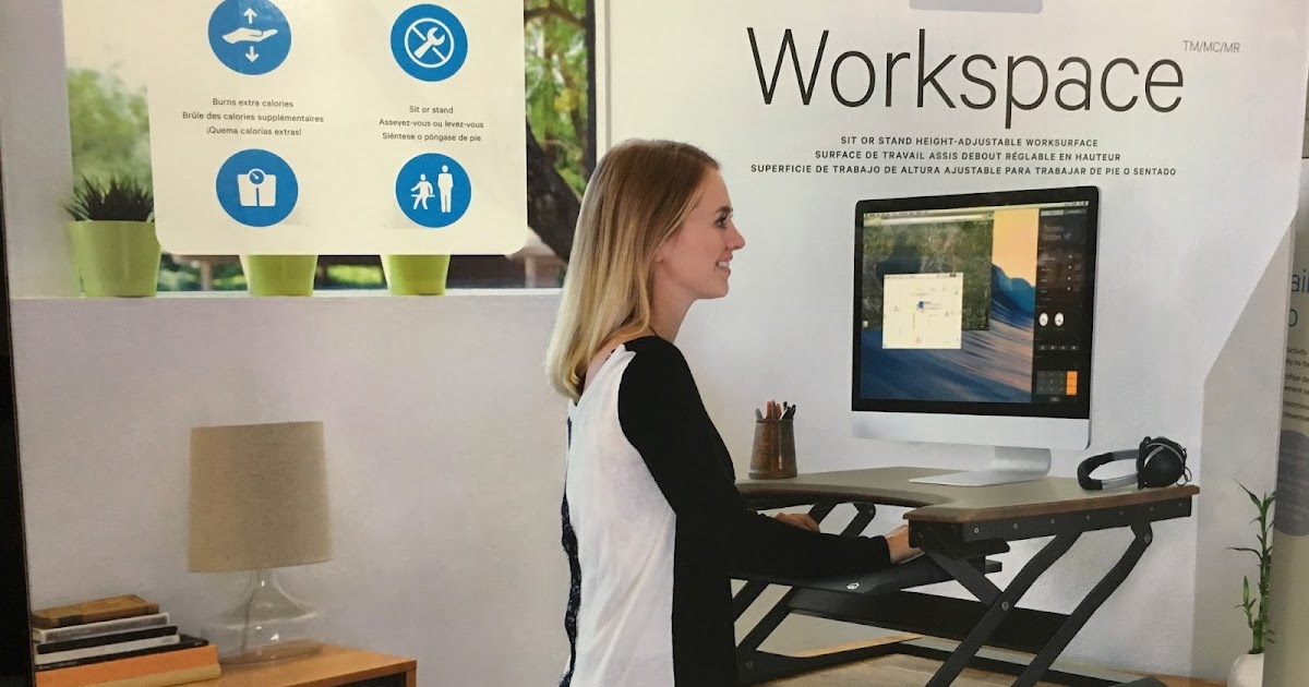 Ergotronhome Sit Or Stand Height Adjustable Workspace