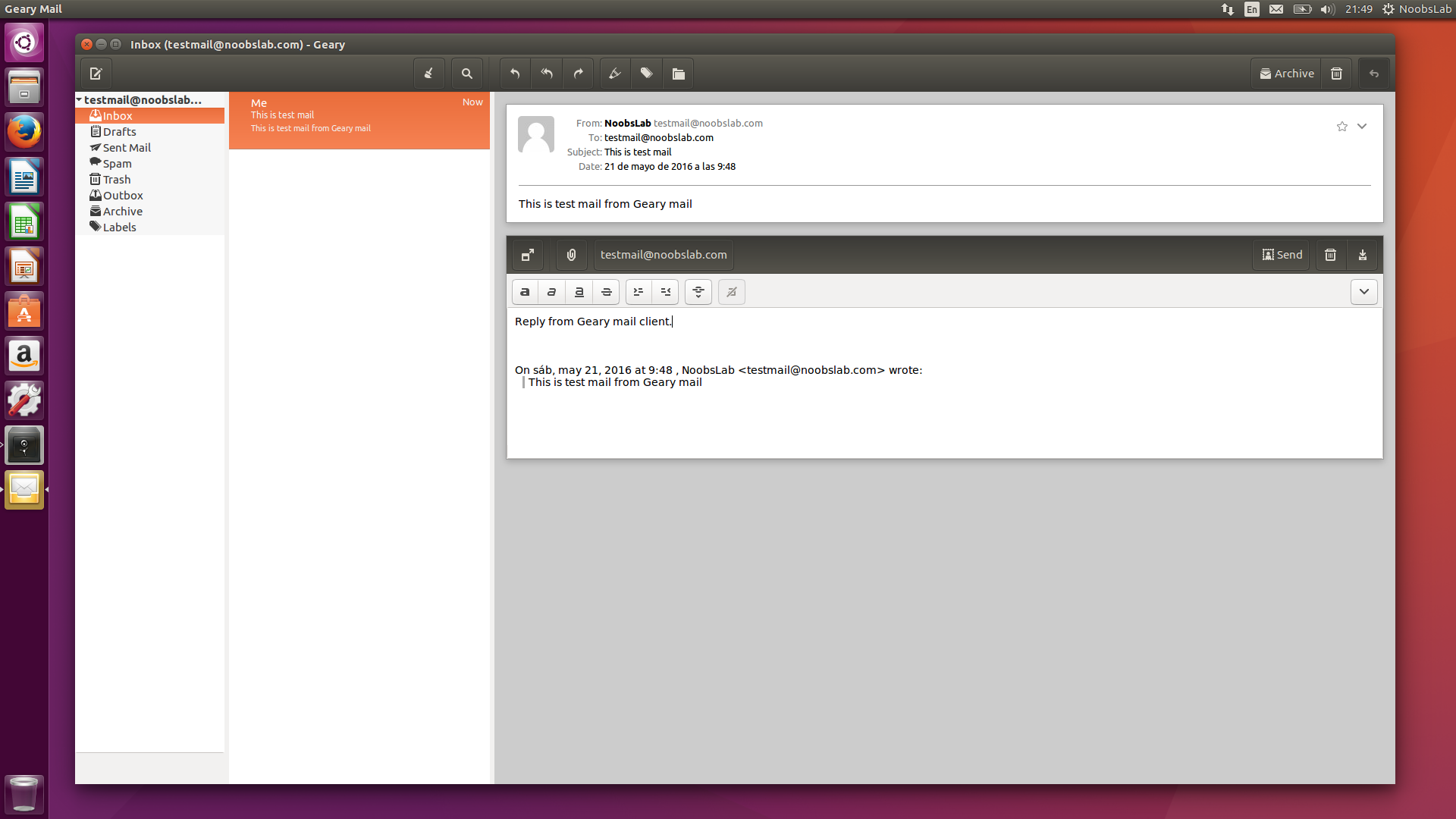 Geary: A Great Email Client for Ubuntu/Linux Mint - NoobsLab