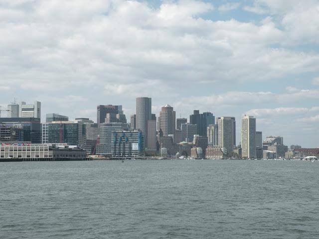 Widok na Boston z morza