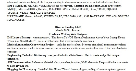 experienced web designer resume format in word free download