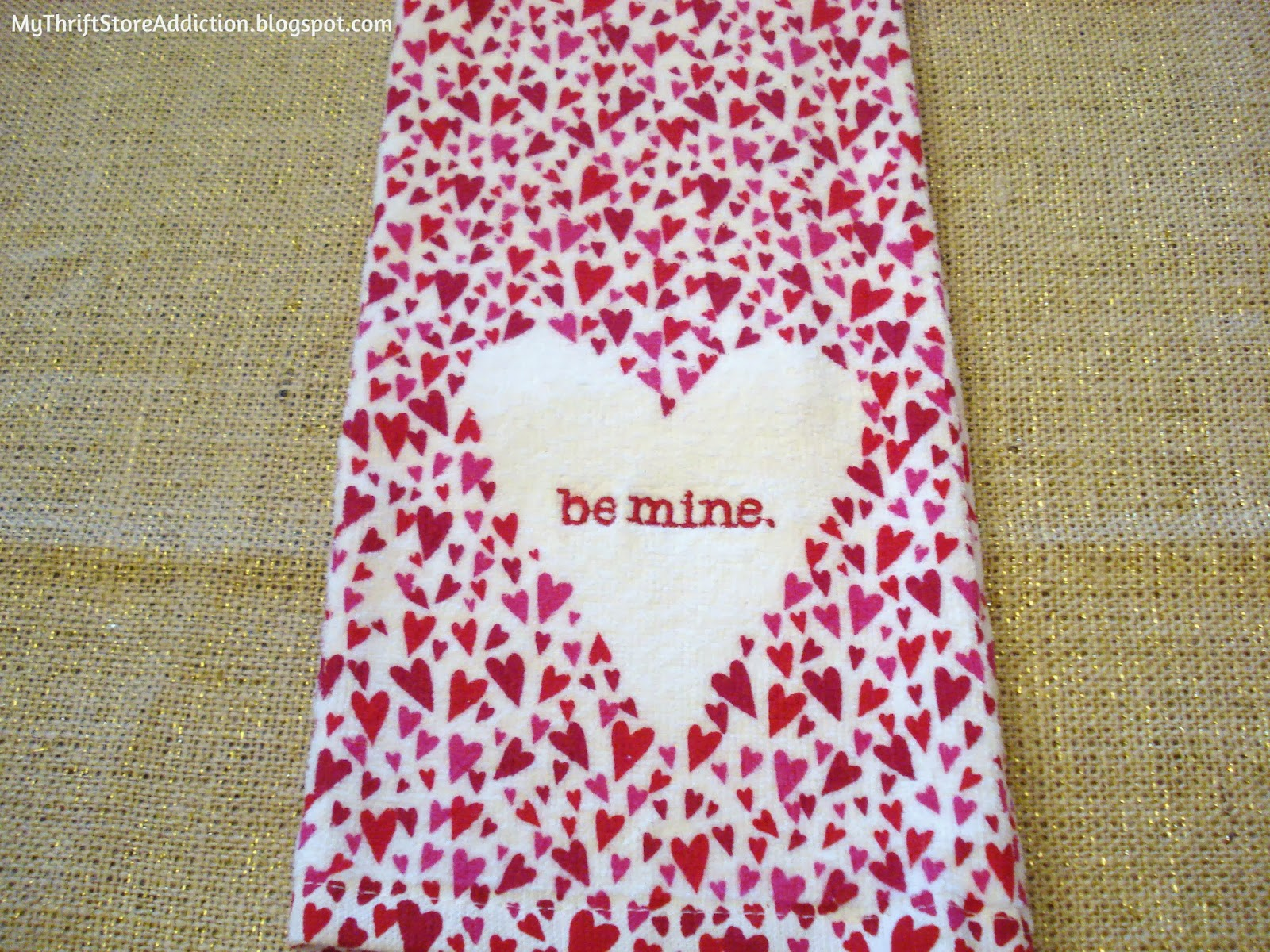 Valentine towel