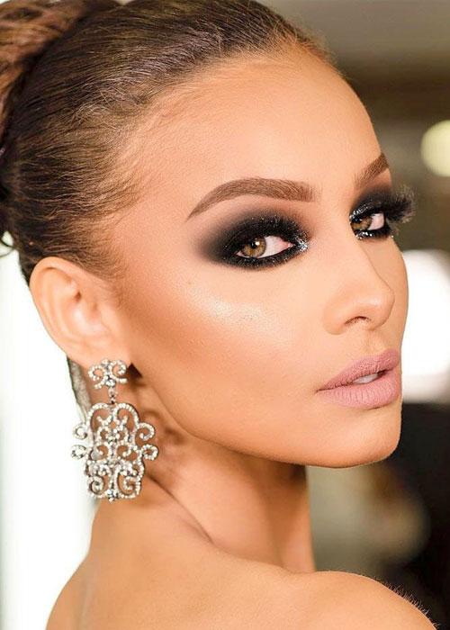 tendencias en maquillaje de ojos 2019 ojos ahumados